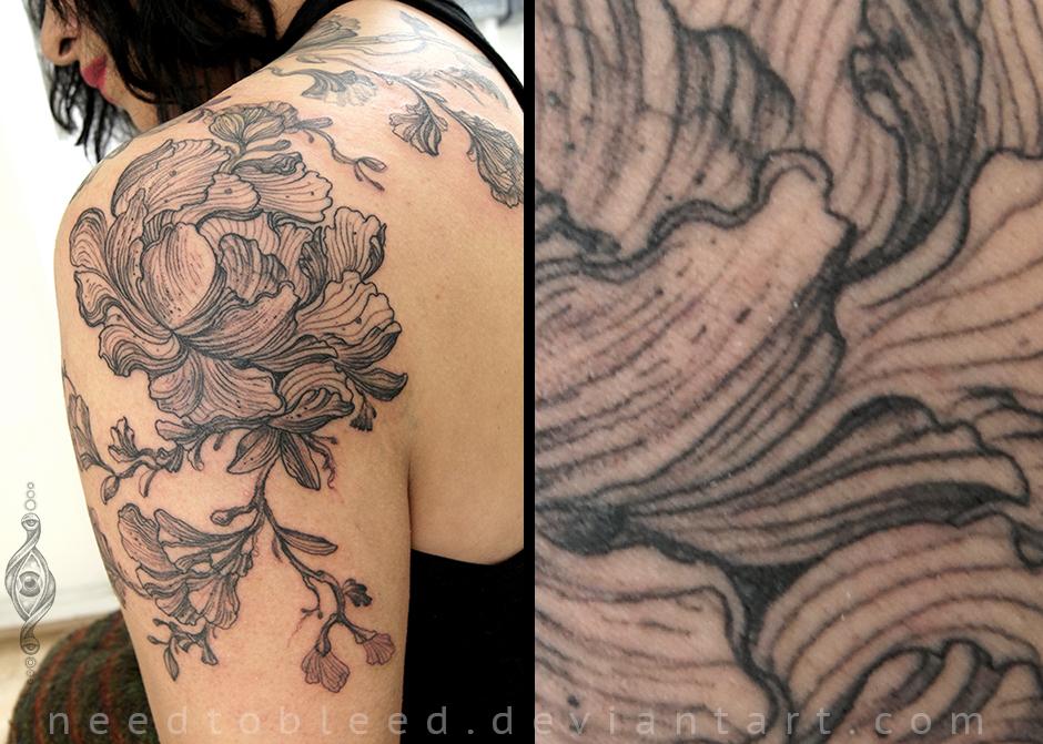 lineas flor by Benjamin Otero by needtobleed