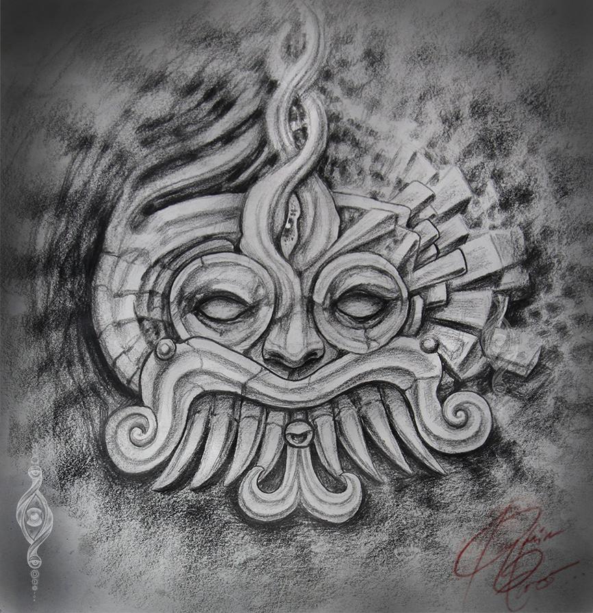Tlaloc Tlalocan by Benjamin Otero by needtobleed