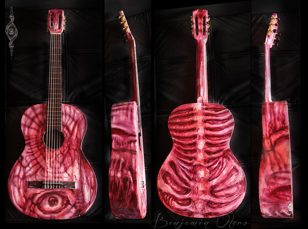 Guitar by Benjamin Otero by needtobleed