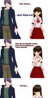 MMD - Why do you talk like a lady?