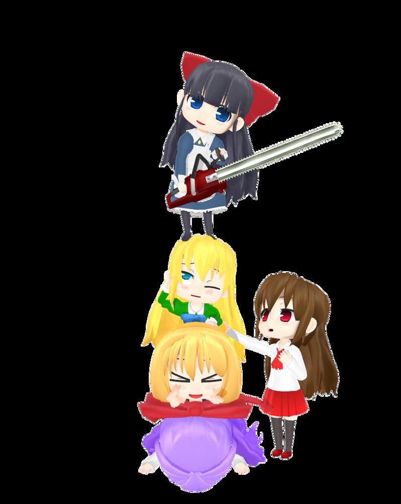 MMD - RPG Cuties by Deceitful96
