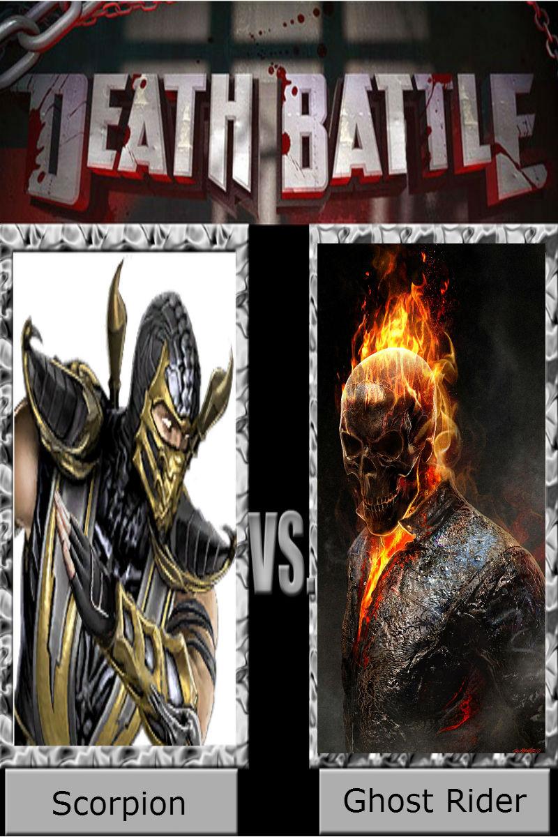 Scorpion vs. Ghost Rider by DeadAliveManiac on DeviantArt