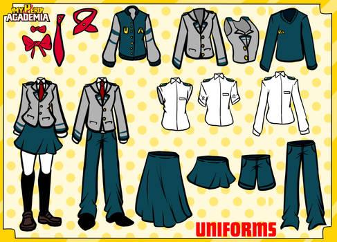 MHA U.A. Uniforms
