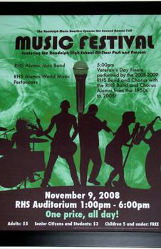 Music Festival 2009 Poster