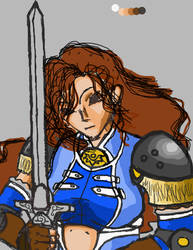 WIP female knight