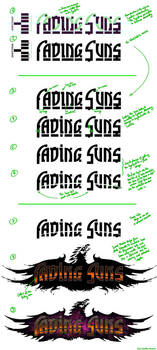 Fading Suns 4th-Edition Logo-Development