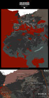 DEGENESIS - The World Map