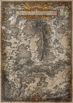 Kosch and Nordmarken (Ingame-Map)