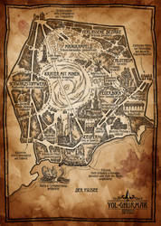 Ingame City Map of Yol-Ghurmak by SteffenBrand
