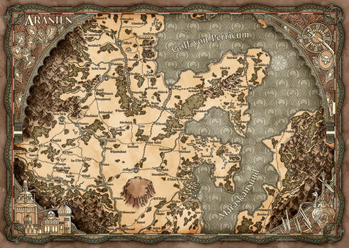 The Ingame-Map of Arania
