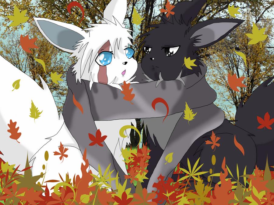 Falling Leaves by BekkiDarliin