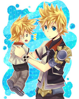 Ven and Roxas