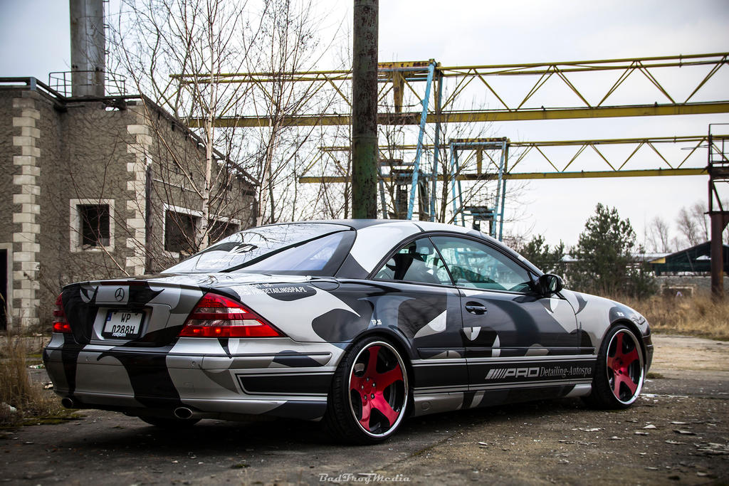 cl 500 mobile