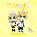 Rin and Len Kagamine in Chibi