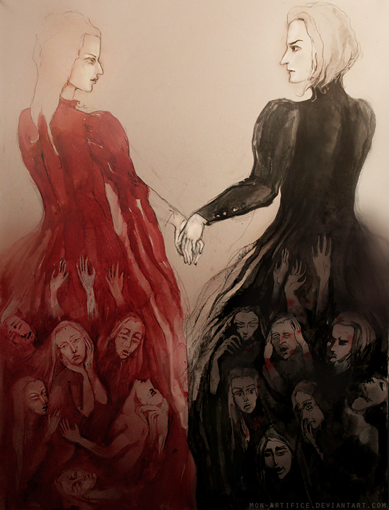 Carnal Cardinal and the Vicar by Mon-artifice