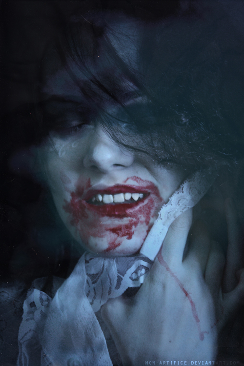Blissful demon by Mon-artifice