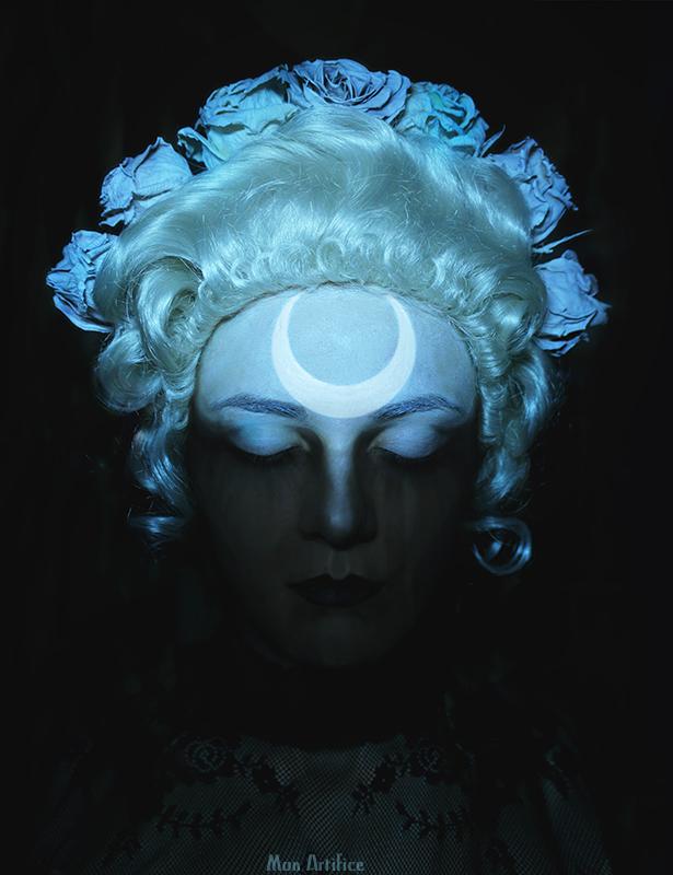 Lunar eclipse by Mon-artifice