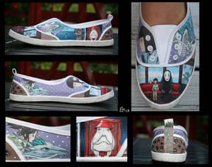Spirited Away Canvas Shoe