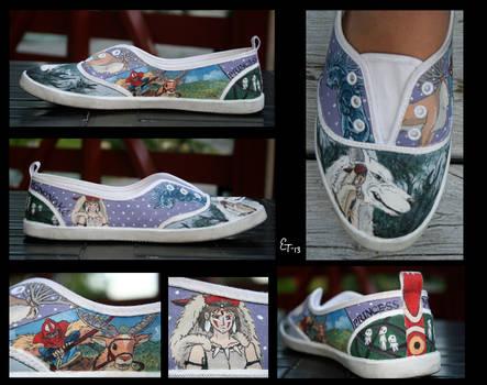 Princess Mononoke Canvas Shoe
