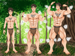 Rafe's Muscle God Fantasy - Part One by FightingYourself