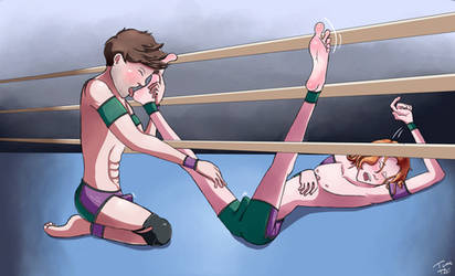 Tommy's Tickle Training Part 2/2 by FightingYourself