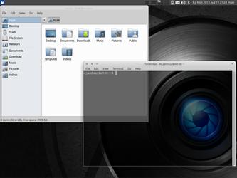 Xubuntu 12.04 2013 Aug 19 by M-Jae