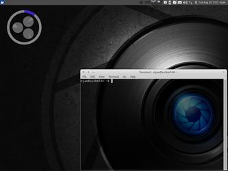 Xubuntu 12.04 Aug 19 with Nucleus by M-Jae