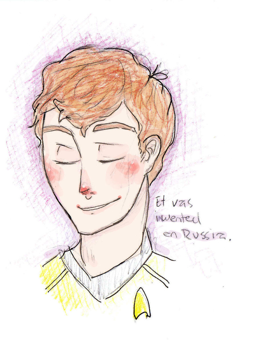 Pavel Chekov by Vuas