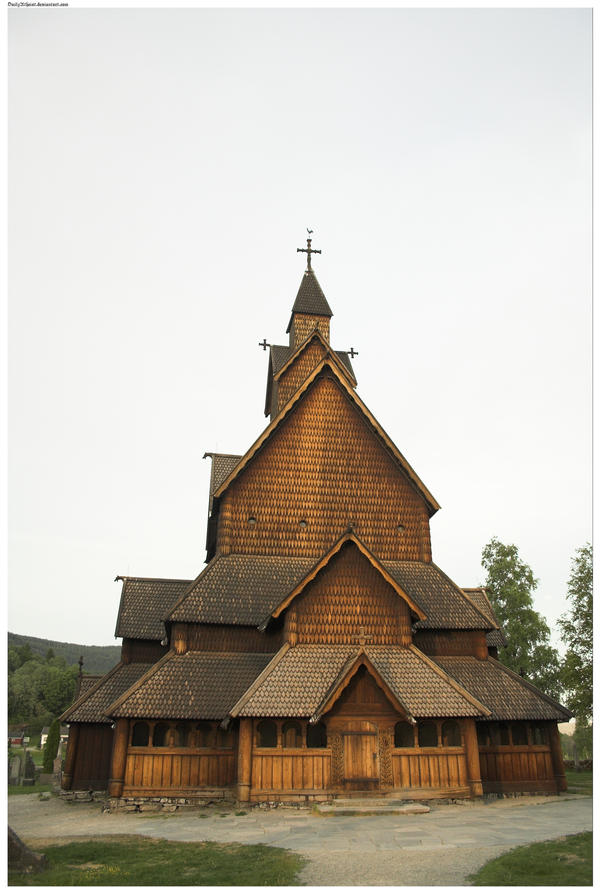 how to get to heddal stave church