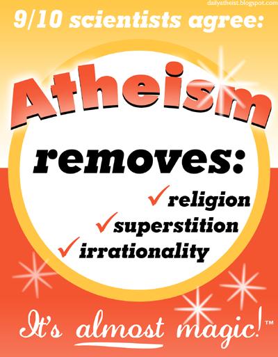 Atheism by DailyAtheist