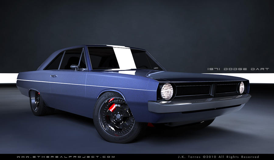 1971 dodge dart custom - photo #1