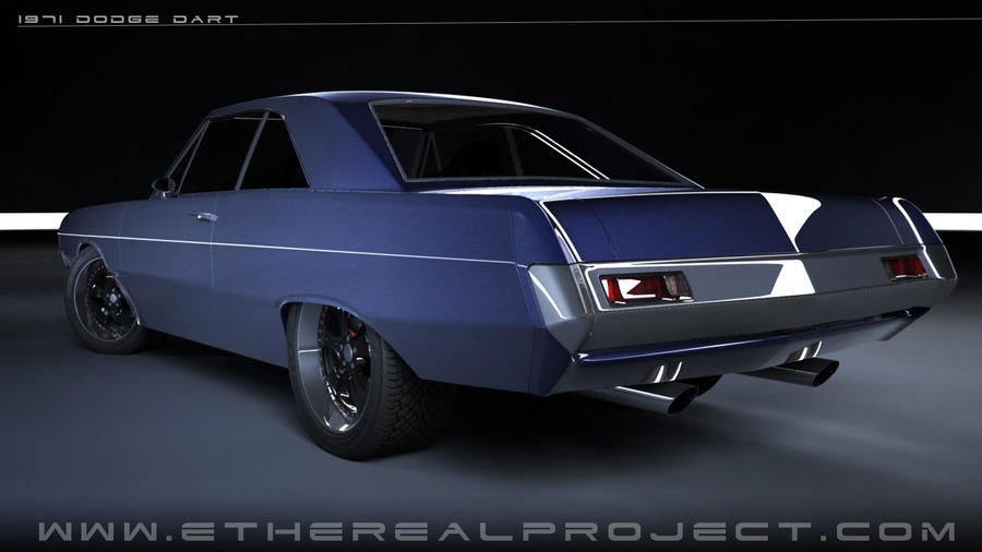 1971 dodge dart custom - photo #7
