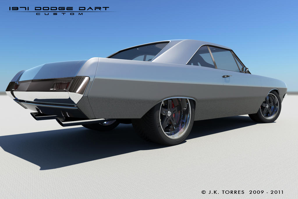 1971 dodge dart custom - photo #35