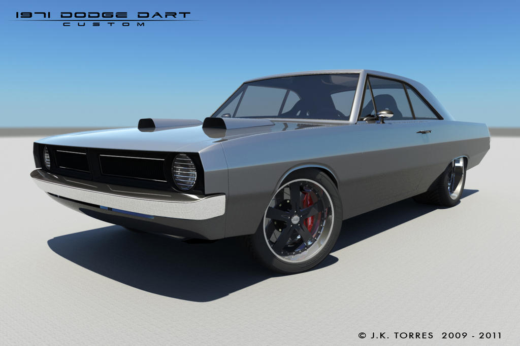 1971 Dodge Dart II by EtherealProject on DeviantArt