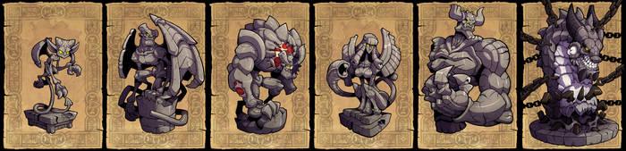 Gargoyles by Lysol-Jones