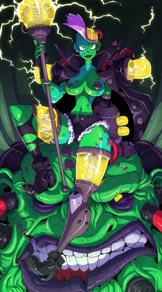 Cyberpunk Necromancer