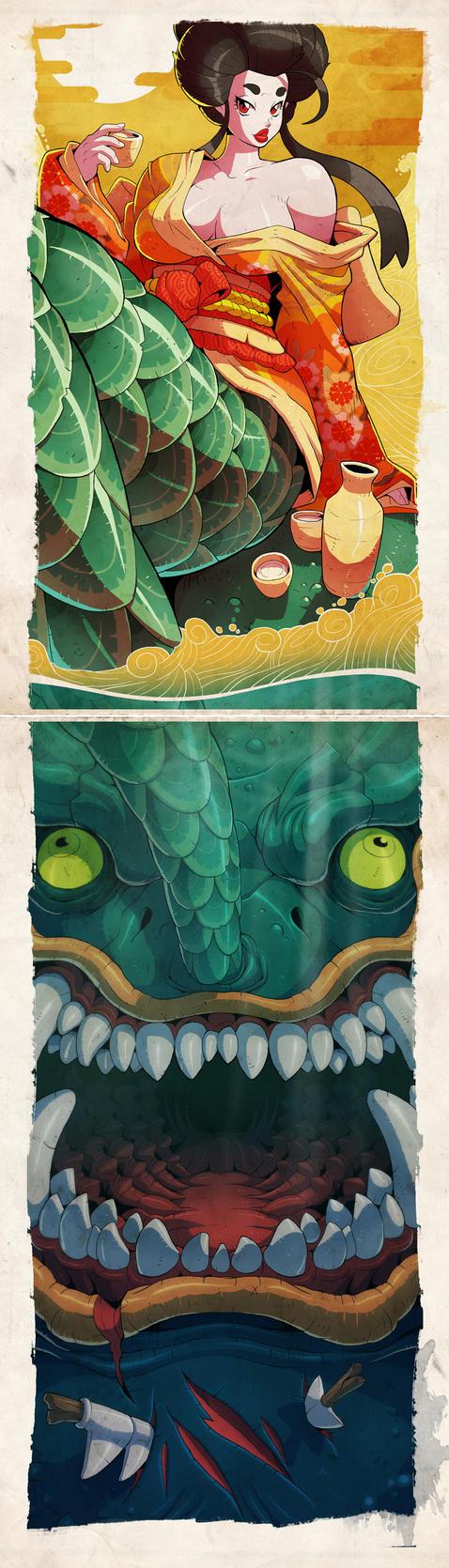 Don't Trust Mermaids by Lysol-Jones