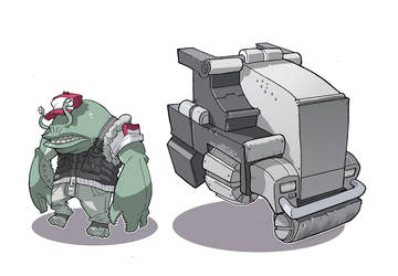 Space Trucker by Lysol-Jones