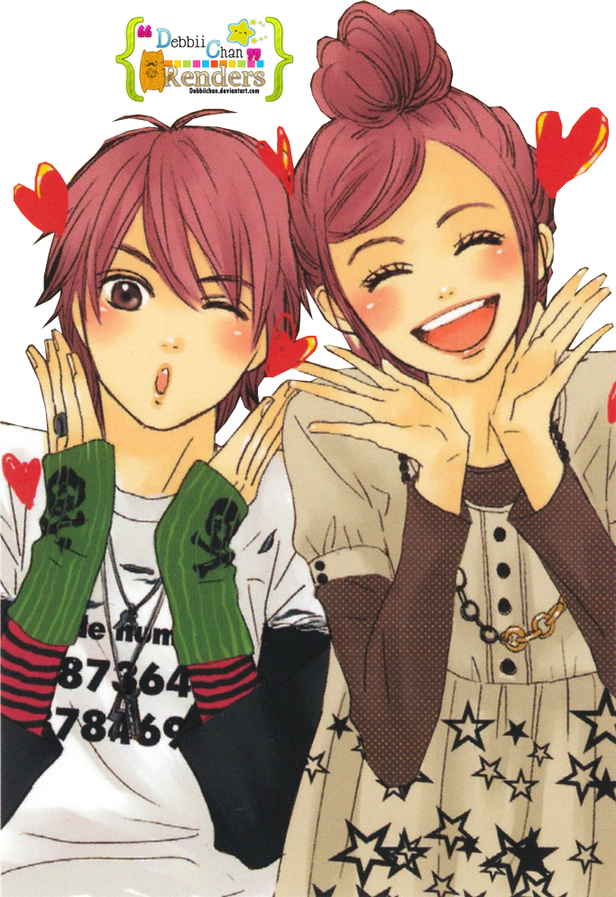 80 Renders Mangas Amour/Amitié Riza_and_otani_render_by_debbiichan-d5x5afw