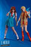 Stella and Asuka ~