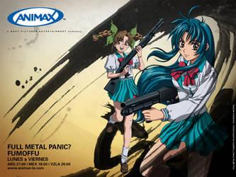 ANIMAX Latinoamerica 2006 Full Metal Panic Fumoffu by debbiichan