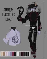 Arren Lucitor Diaz by Vanhder
