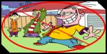 anti Ed Edd n Eddy Stamp by the-guy-you-hate