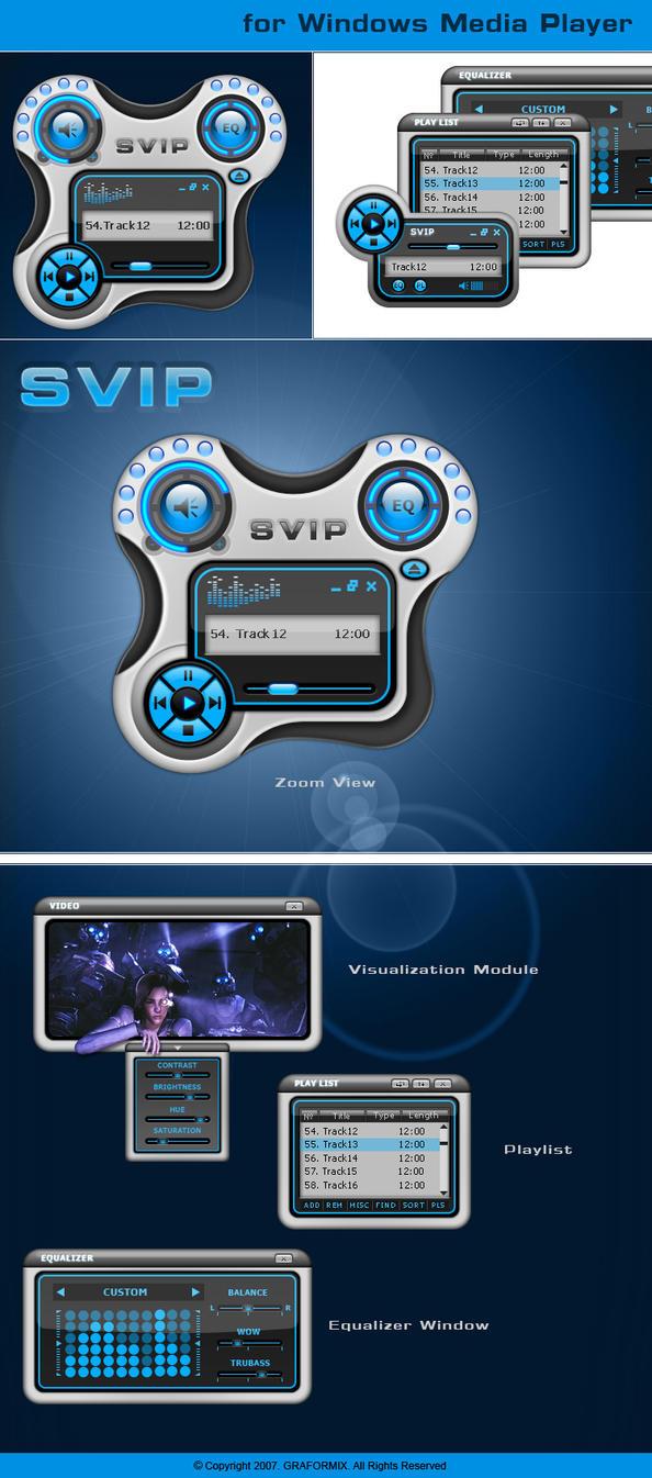 SVIP WM Player concept by graformix
