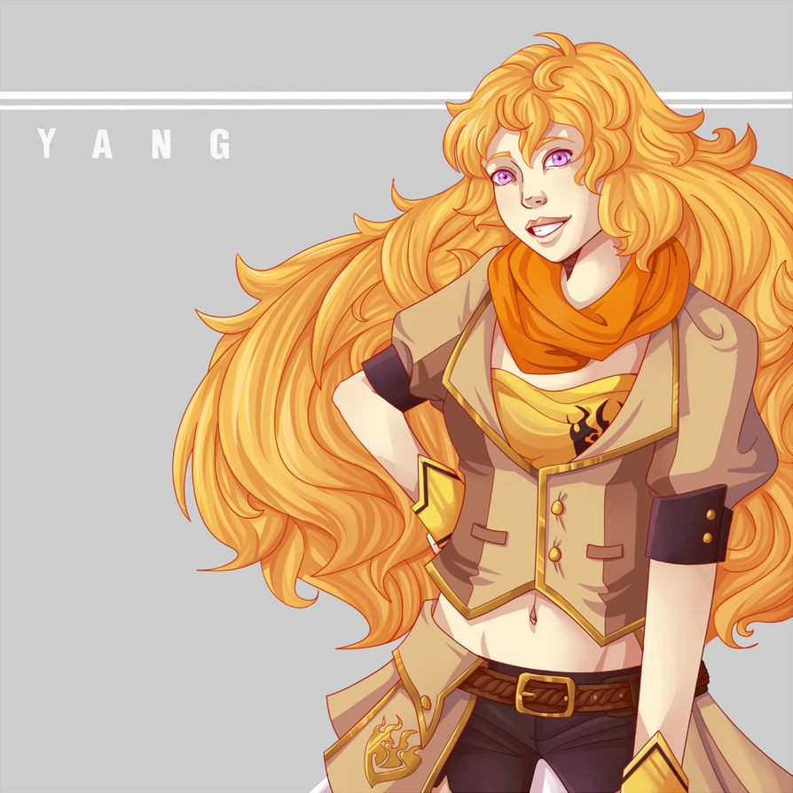 Yang Xiao Long Wallpaper: Yang Xiao Long By InAnOrdinaryWay On DeviantArt