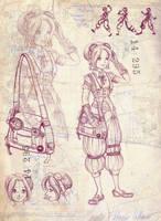 Steampunk Girl 1 by Bouxjie