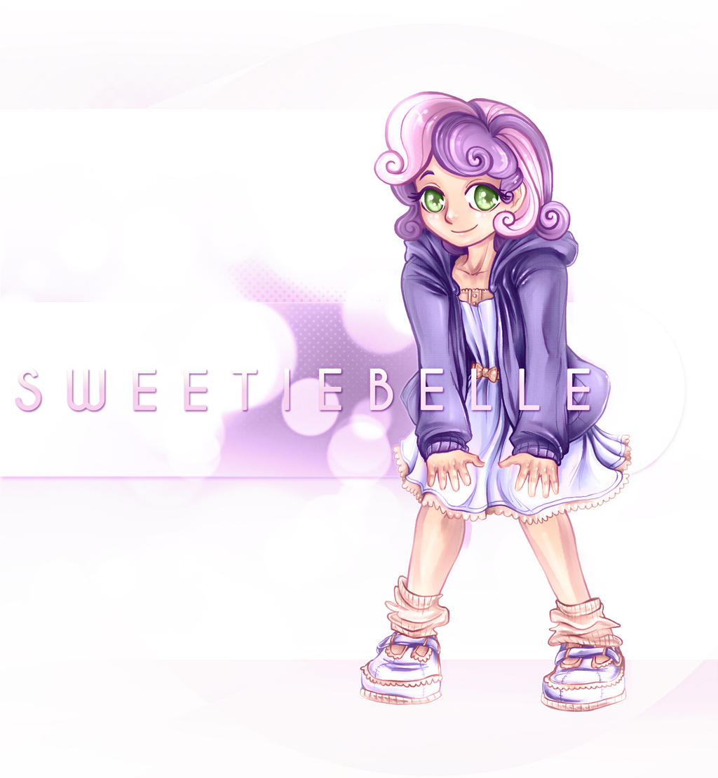 MLP:FIM Humanized Series Sweetie Belle By Bouxjie On