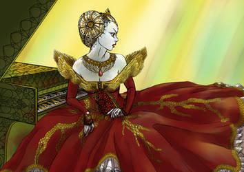 Vampire Soledad by Lutessius
