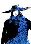Vampire Hunter D - Blue roses.