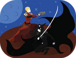 Vampire hunter D Leila